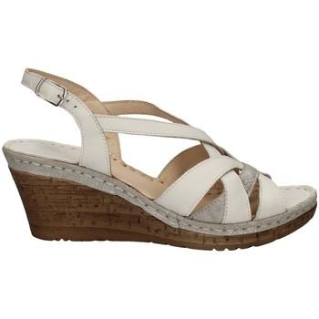 Chaussures Femme Sandales et Nu-pieds Melluso HO19046 Avec coin Femme LAIT LAIT