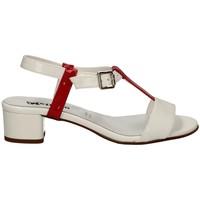Chaussures Femme Sandales et Nu-pieds Melluso HK35046 Avec talon Femme BLANC BLANC