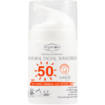 Beauté Protections solaires Arganour Natural&organic Facial Sunscreen Spf50  50 ml