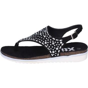 Chaussures Femme Sandales et Nu-pieds Xti sandales daim synthétique noir