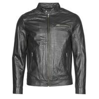 Vêtements Homme Vestes en cuir / synthétiques Selected SLHC01 Noir