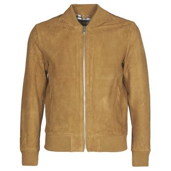 Vêtements Homme Vestes en cuir / synthétiques Selected SLHBROKE Marron