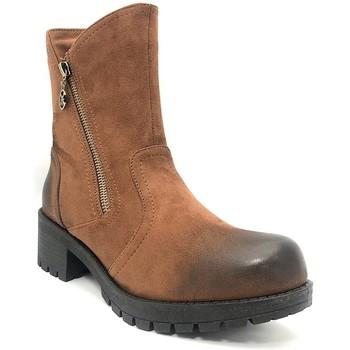 Chaussures Femme Bottines Chattawak Botine 8-TILDA  Camel Marron