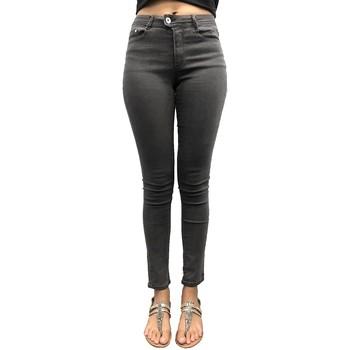 Vêtements Femme Jeans slim LPB Woman Les Petites bombes Pantalon Skinny Ultras Stretch Gris W19V2101 Gris