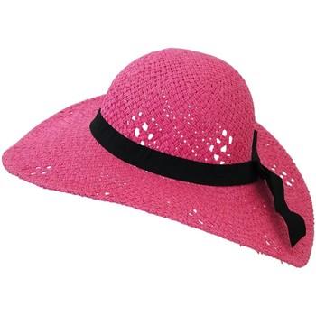 Accessoires textile Femme Chapeaux Chapeau-Tendance Chapeau capeline MANEVA Rose fushia