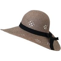Accessoires textile Femme Chapeaux Chapeau-Tendance Chapeau capeline MANEVA Taupe