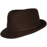 Accessoires textile Homme Chapeaux Chapeau-Tendance Chapeau trilby ROKIA T61 Marron
