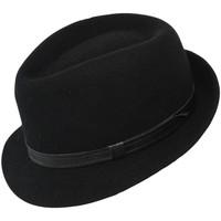 Accessoires textile Homme Chapeaux Chapeau-Tendance Chapeau trilby ROKIA T59 Noir