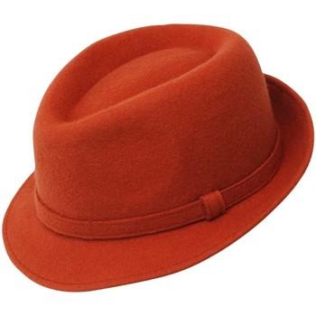 Accessoires textile Homme Chapeaux Chapeau-Tendance Chapeau trilby ROKIA T61 Orange