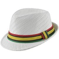 Accessoires textile Homme Chapeaux Chapeau-Tendance Chapeau trilby SAMELIA Blanc