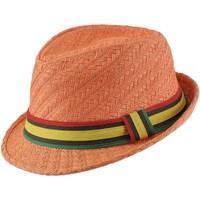 Accessoires textile Homme Chapeaux Chapeau-Tendance Chapeau trilby SAMELIA Orange
