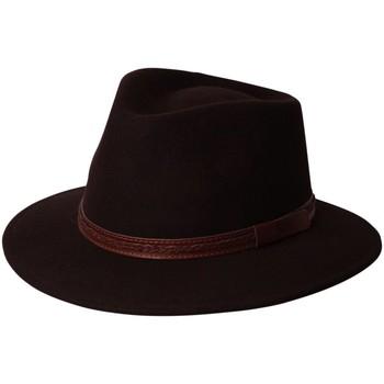Accessoires textile Homme Chapeaux Chapeau-Tendance Chapeau australien DALLAS T55 Marron