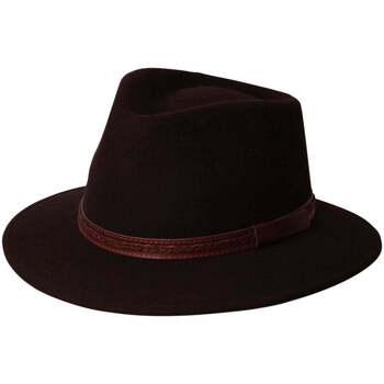 Accessoires textile Homme Chapeaux Chapeau-Tendance Chapeau australien DALLAS T56 Marron