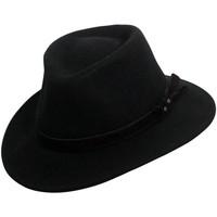 Accessoires textile Homme Chapeaux Chapeau-Tendance Chapeau australien HOUSTON T56 Noir