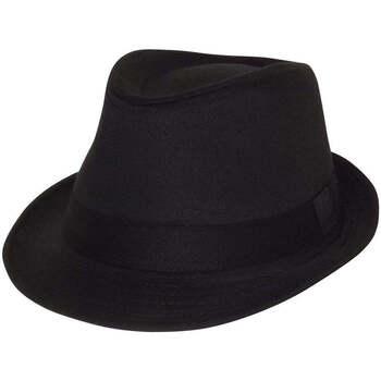 Accessoires textile Homme Chapeaux Chapeau-Tendance Chapeau trilby MAEL T58 Noir