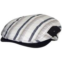 Accessoires textile Homme Casquettes Chapeau-Tendance Casquette coton patchwork T59 Marron