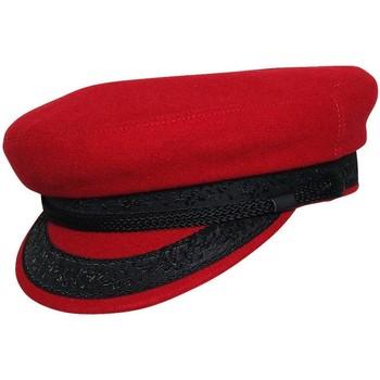 Accessoires textile Homme Casquettes Chapeau-Tendance Casquette de marin laine T57 Rouge