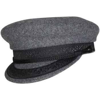 Accessoires textile Homme Casquettes Chapeau-Tendance Casquette de marin laine T56 Gris