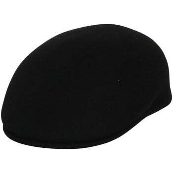 Accessoires textile Homme Casquettes Chapeau-Tendance Casquette 100% laine T55 Noir