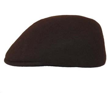 Accessoires textile Homme Casquettes Chapeau-Tendance Casquette 100% laine T59 Marron