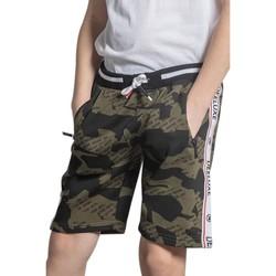 Vêtements Garçon Shorts / Bermudas Deeluxe Short PROTECT Olive