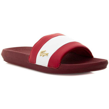 Chaussures Homme Claquettes Lacoste Sandale Rouge