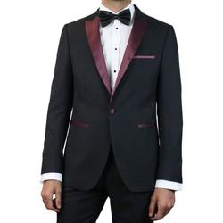 Vêtements Homme Vestes de costume Kebello Smoking bicolore Taille : H Noir 46V-38P Noir