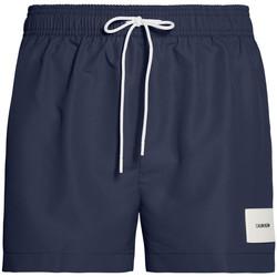 Vêtements Homme Maillots / Shorts de bain Calvin Klein Jeans Short de bain homme  ref_49424 Marine marine