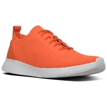 Chaussures Homme Baskets basses FitFlop FLEEXKNIT - SNEAKERS - NEON ORANGE CO SNEAKERS - NEON ORANGE CO