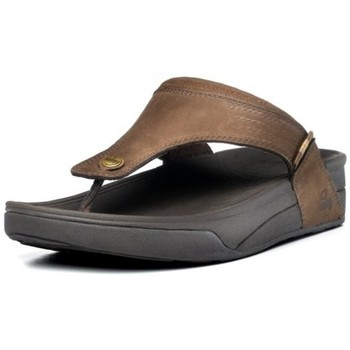 Chaussures Homme Tongs FitFlop Dass TM - chocolate chocolate