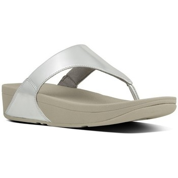 Chaussures Femme Tongs FitFlop LULU TM TOE-THONG SANDALS MIRROR - SILVER SILVER