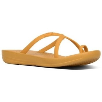 Chaussures Femme Tongs FitFlop iQUSION WAVE - SLIDES - BAKED YELLOW es SLIDES - BAKED YELLOW es