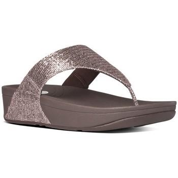 Chaussures Femme Tongs FitFlop LULU TM SUPERGLITZ - Bronze Bronze