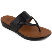Chaussures Femme Tongs FitFlop DELTA TM TOE-THONG SANDALS - BLACK BLACK