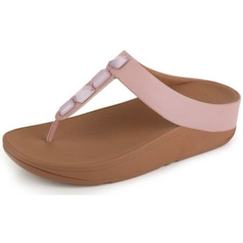 Chaussures Femme Tongs FitFlop ROKA TM TOE-THONG SANDALS - DUSKY PINK DUSKY PINK