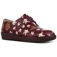 Chaussures Femme Derbies FitFlop DERBY DARK FLORAL - BERRY MIX BERRY MIX