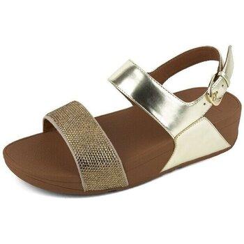 Chaussures Femme Sandales et Nu-pieds FitFlop CRYSTALL TM II BACK-STRAP SANDALS - GOLD GOLD