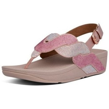 Chaussures Femme Tongs FitFlop PAISLEY ROPE BACK STRAP SANDALS - SOFT PINK SOFT PINK