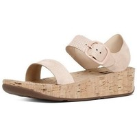 Chaussures Femme Sandales et Nu-pieds FitFlop BON TM LIZARD PRINT SANDAL - NUDE PINK NUDE PINK