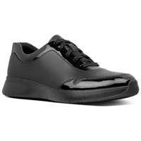 Chaussures Femme Baskets basses FitFlop IDA FLEX SNEAKERS - ALL BLACK ALL BLACK