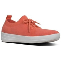 Chaussures Femme Baskets basses FitFlop F-SPORTY UBERKNIT - CORAL LAVA MIX CORAL LAVA MIX