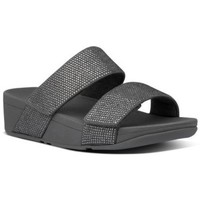 Chaussures Femme Mules FitFlop MINA CRYSTAL SLIDES - PEWTER PEWTER