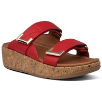 Chaussures Femme Mules FitFlop REMI ADJUSTABLE SLIDES - RED RED