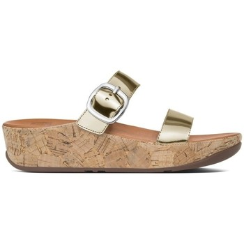 Chaussures Femme Mules FitFlop Stack TM slide - Gold Gold