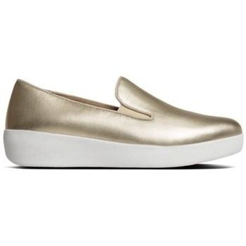 Chaussures Femme Mocassins FitFlop SUPERSKATE TM - GOLD IRIDESCENT GOLD IRIDESCENT
