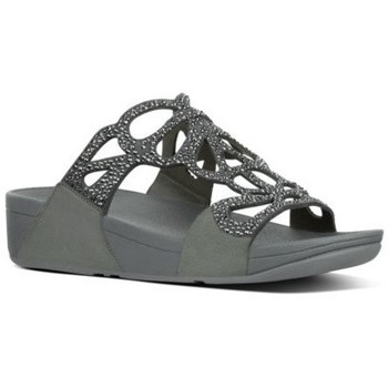 Chaussures Femme Mules FitFlop BUMBLE CRYSTAL SLIDE - PEWTER es PEWTER es