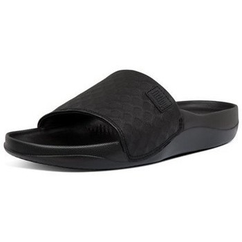 Chaussures Femme Claquettes FitFlop BEACH POOL SLIDES - ALL BLACK ALL BLACK