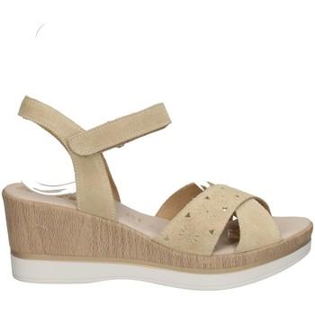 Chaussures Femme Sandales et Nu-pieds Melluso 037064F BEIGE