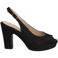 Chaussures Femme Sandales et Nu-pieds Melluso HY1148 NOIR