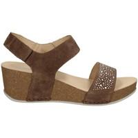 Chaussures Femme Sandales et Nu-pieds Melluso 019118X AMANDE